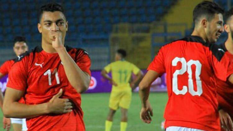 Mostafa Mohamed, hazırlık maçında Mısır'a galibiyeti getirdi!