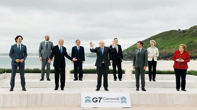 Biden açılışı G-7 ile yaptı