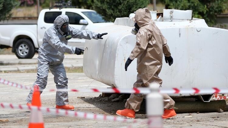 Çin'de bir fabrikada kimyasal sızıntı: 8 ölü