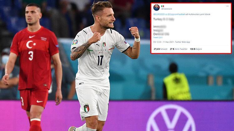 EURO 2020de geceye damga vuran paylaşım Hem skoru hem de gol atanları bildi