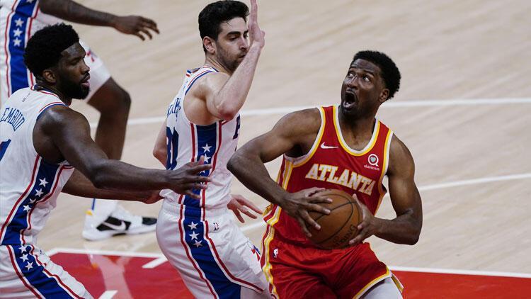 NBAde gecenin sonuçları: Furkan Korkmazlı 76ers, Hawks serisinde 2-1 öne geçti