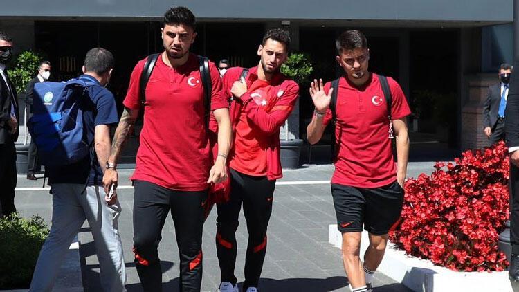 A Milli Takım Roma'dan ayrıldı!