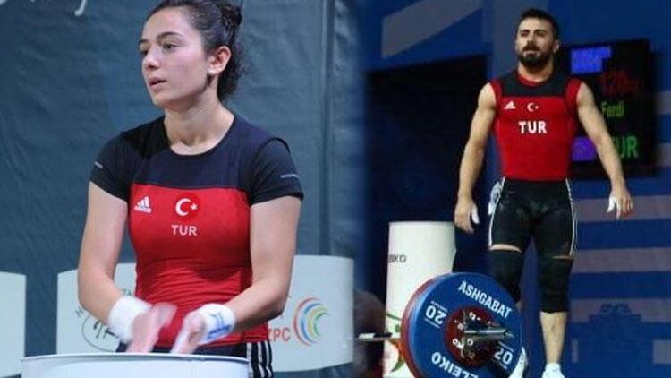 Milli halterciler Nuray Levent ve Ferdi Hardal, Tokyo Olimpiyatları'na kota kazandı