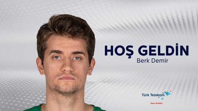 Türk Telekom Basketbol Takımı, Darüşşafaka Tekfen'de oynayan Berk Demir'i transfer etti