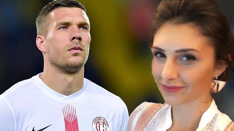 Podolski'den futbolcu eşlerine flaş eleştiri! Yıldız ismin eşinden olay yanıt
