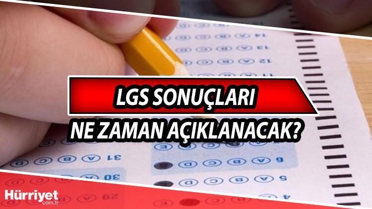 LGS sonuçları ne zaman açıklanacak? LGS 2021 sonuçları için MEB bilgisi