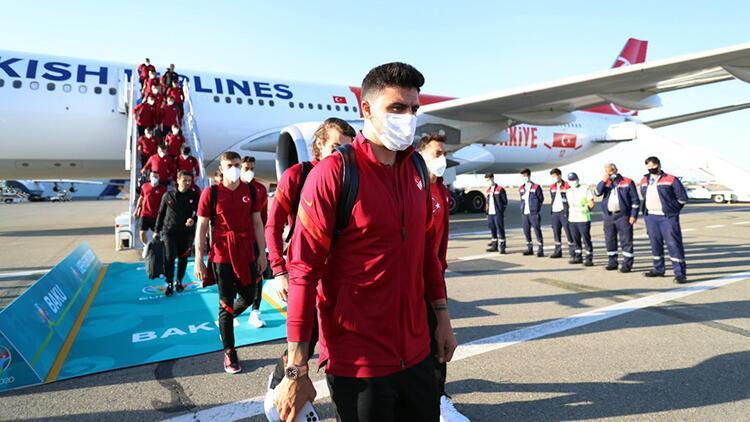 A Milli Futbol Takımı, Azerbaycan'a geldi