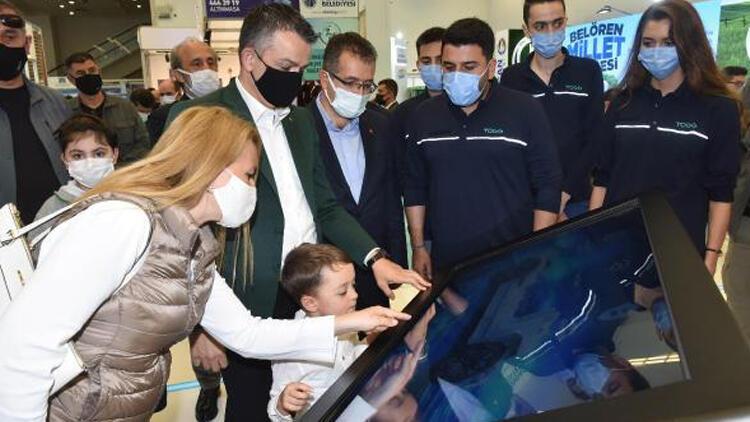 Bakan Pakdemirli, Verimlilik ve Teknoloji Fuarı'nı ziyaret etti