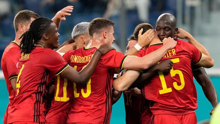 Son Dakika: Belçika 3-0 Rusya (EURO 2020)