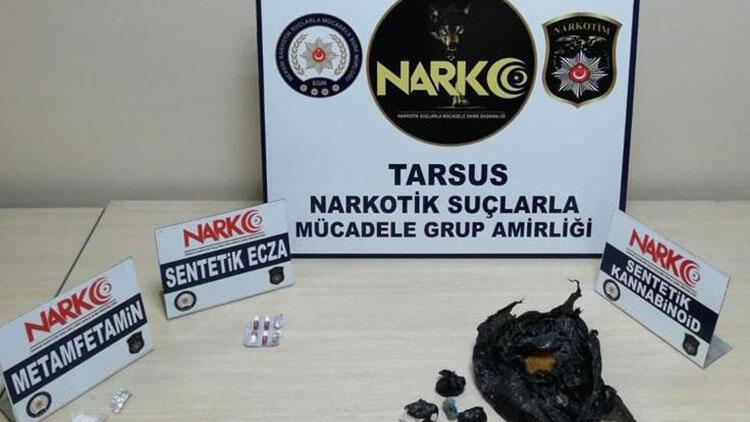 Mersin'de uyuşturucu operasyonu! 4 tutuklama