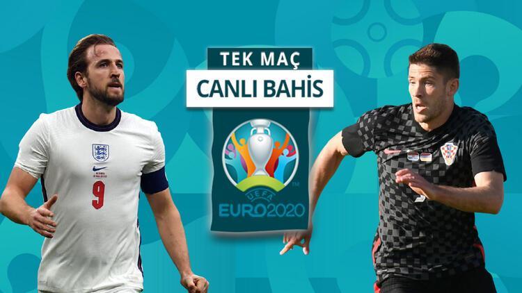 İngiltere, EURO 2020 serüvenine Hırvatistan'la başlıyor! Bu maça iddaa oynayanların %32'si...