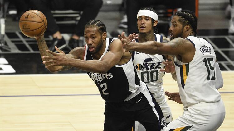 NBA'de Gecenin Sonuçları: Clippers, Jazz'ı yenerek seriyi 2-1 yaptı