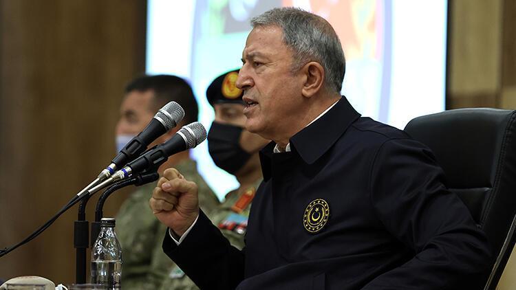 Son dakika: Bakan Akar'dan Libya açıklaması