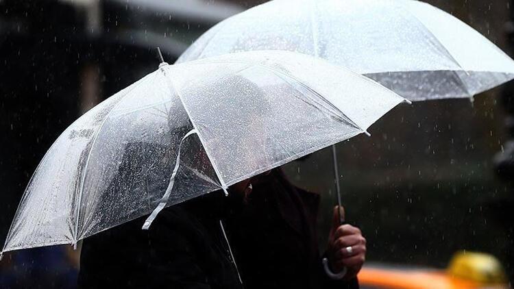 6 il için Meteoroloji'den sağanak yağış uyarısı