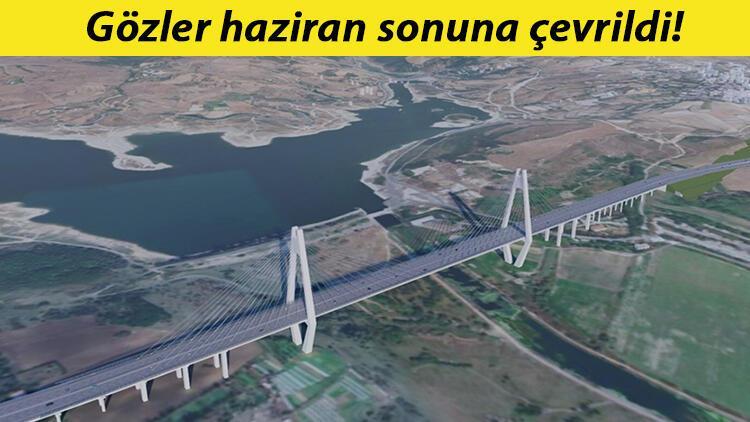 Son dakika... Kanal İstanbulun ilk köprüsünün detayları belli oldu...Toplam uzunluğu 1618 metre olacak.