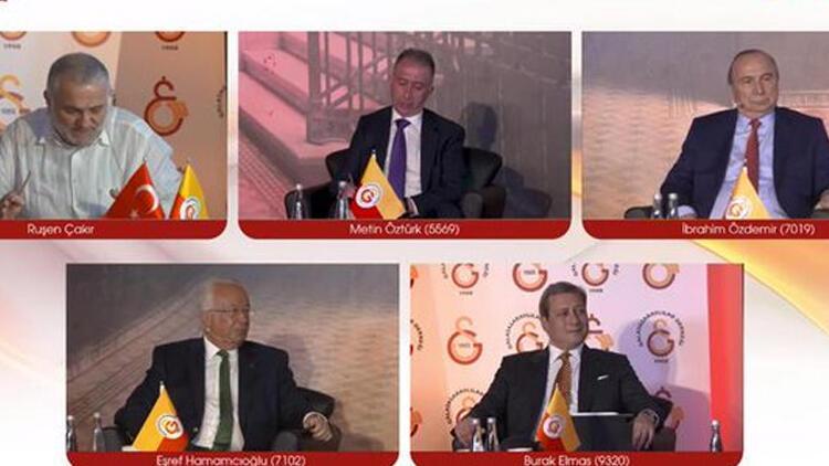Galatasaray Kulübünde 4 başkan adayı canlı yayında bir araya geldi