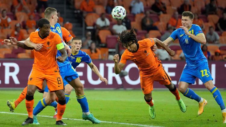 Son Dakika: Hollanda 3-2 Ukrayna / Maç sonucu ve özeti