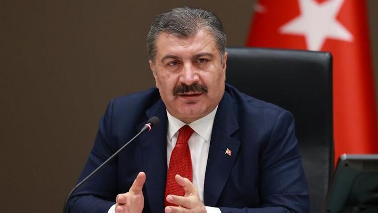 Sağlık Bakanı Koca dün 456 bin doz Kovid-19 aşısı yapıldığını bildirdi