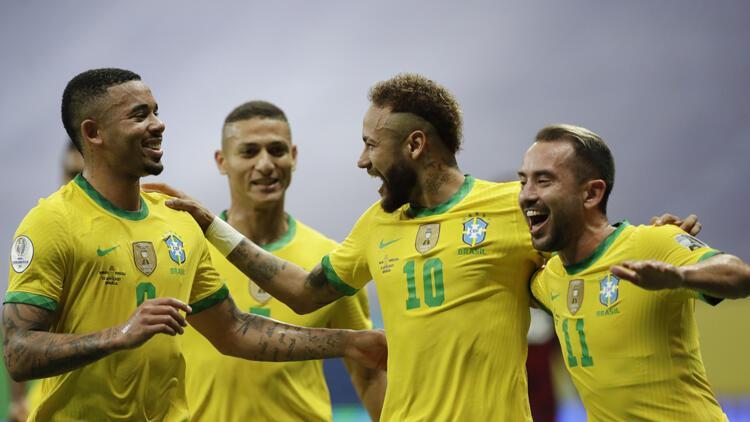 Son Dakika: Brezilya, Copa America'nın açılışını galibiyetle yaptı
