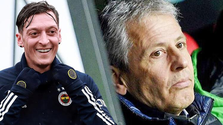 Son dakika Fenerbahçe haberi... Teknik direktör Lucien Favre'den cevap! Reddedecekken Mesut Özil detayı...