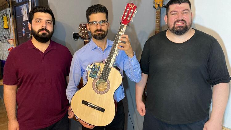Bu gitar müzikte devrim yaratacak