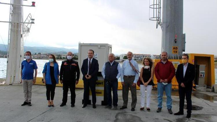 Tekirdağ'da, Deprem ve Tsunami Gözlem İstasyonu kuruldu