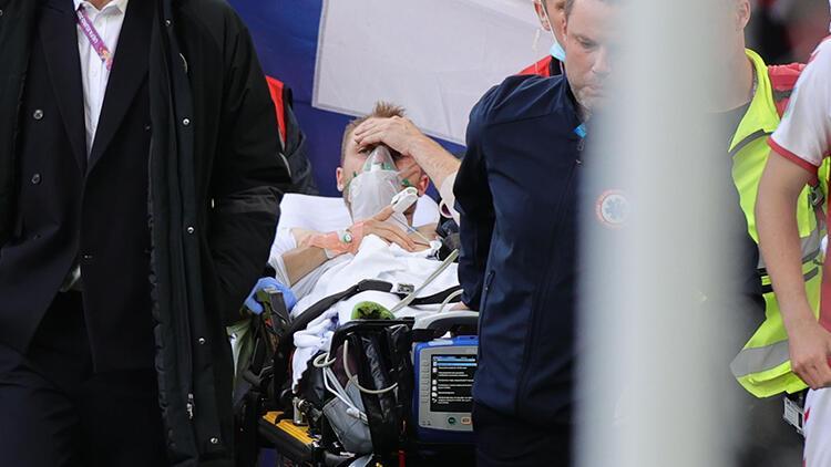 Son Dakika: Danimarka-Finlandiya maçında kalp rahatsızlığı geçiren Christian Eriksen için 2 büyük şüphe!
