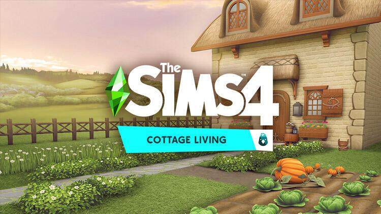 The Sims 4 Cottage Living eklentisi ile kırlara açılıyor