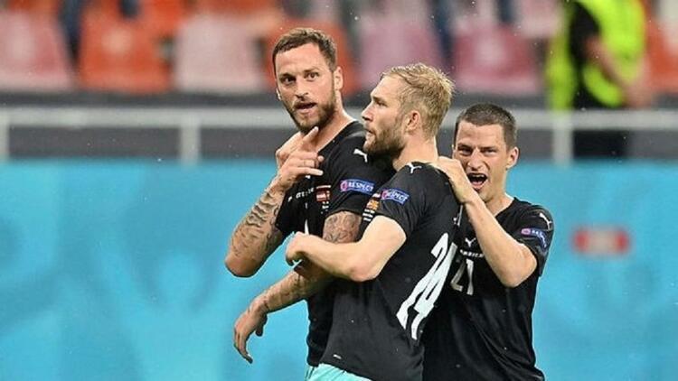 UEFA'dan Avusturyalı futbolcu Arnautovic'e soruşturma! EURO 2020'deki gol sevinci...