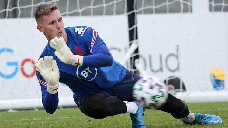Dean Henderson, İngiltere'nin EURO 2020 kadrosundan çıkartıldı