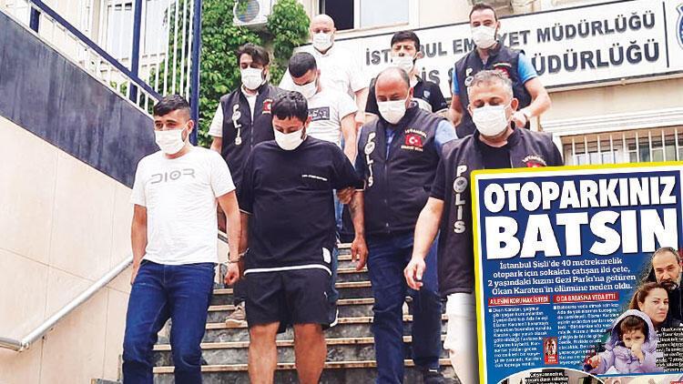 Otopark çatışmasına 6 tutuklama