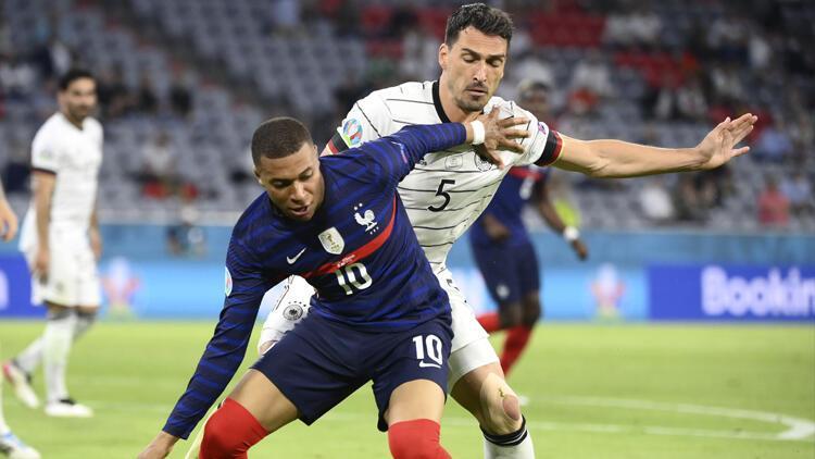 Son Dakika: Fransa 1-0 Almanya / Maç sonucu