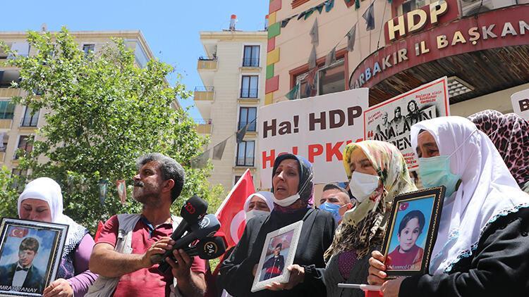 HDP önündeki eylemde 653'üncü gün