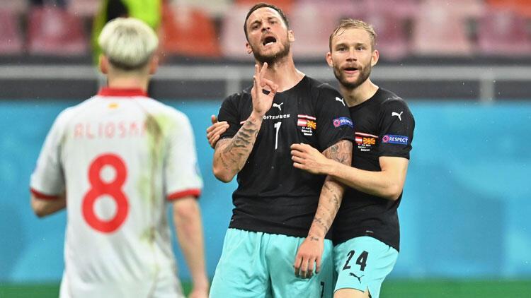 Son dakika: EURO 2020'de gol sonrası küfür eden Marko Arnautovic'e men cezası!