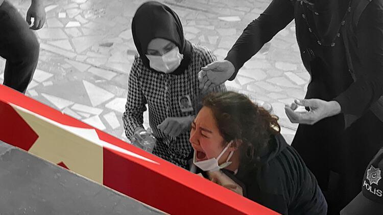 Hatay'da trafik kazasında hayatını kaybeden polis memuruna acı veda