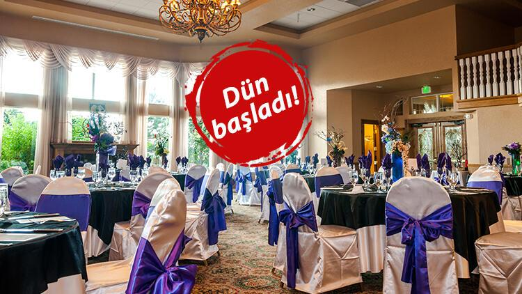 Düğünlerde yeni dönem fiyatlara da yansıyacak! Flaş zam açıklaması