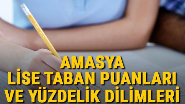 Amasya lise taban puanları 2021! Amasya Anadolu, İmam Hatip, Fen Lisesi LGS yüzdelik dilimleri ve taban puanları bilgileri