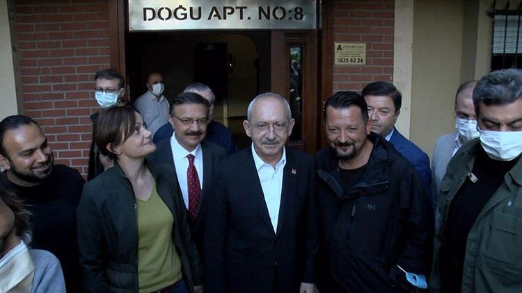 Kılıçdaroğlu'ndan Saltık'ın ailesine taziye ziyareti