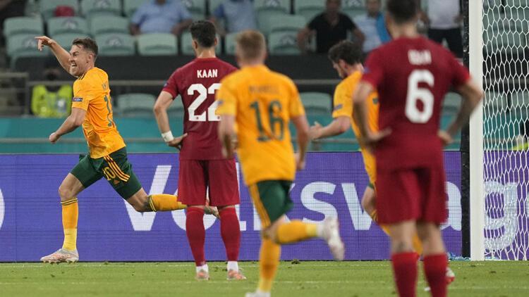 EURO 2020'deki Türkiye - Galler maçında yediğimiz çok konuşuldu! Galler'in Bale-Ramsey planı gerçekleşti