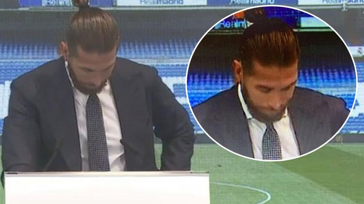 Son dakika: Real Madrid'e veda eden Sergio Ramos gözyaşlarını tutamadı