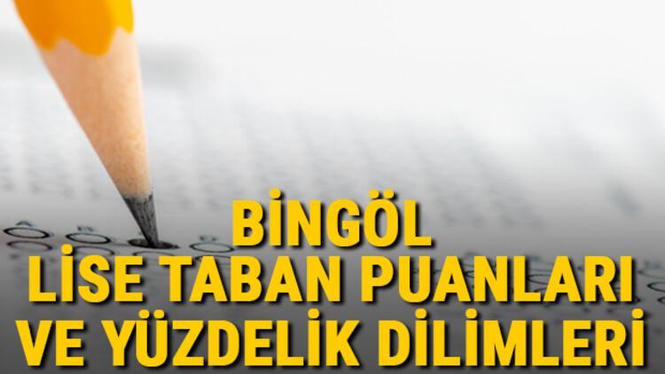 Bingöl lise taban puanları 2021! Bingöl Anadolu, İmam Hatip, Fen Lisesi LGS yüzdelik dilimleri ve taban puanları bilgileri