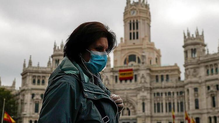 İspanya'da koronavirüsten dolayı son 24 saatte 19 kişi öldü