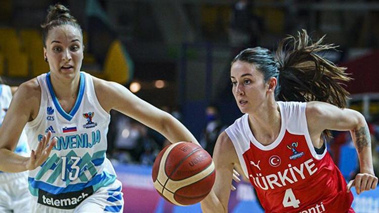 A Milli Kadın Basketbol Takımı, Slovenya'ya kaybetti