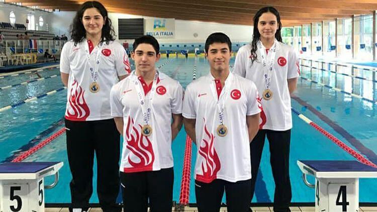Paletli yüzmede Kaan Kahraman, dünya ikincisi oldu
