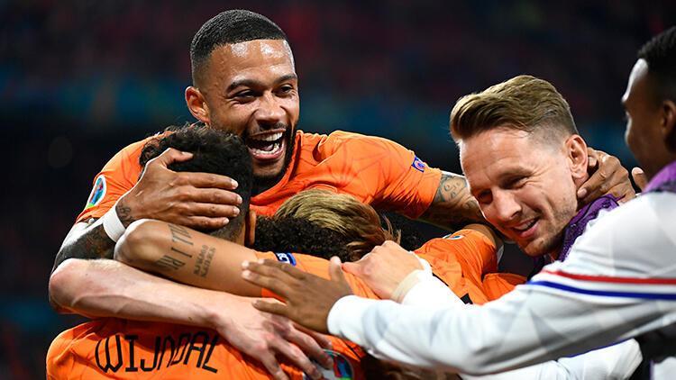 Hollanda 2-0 Avusturya (EURO 2020 maçı özeti ve golleri)