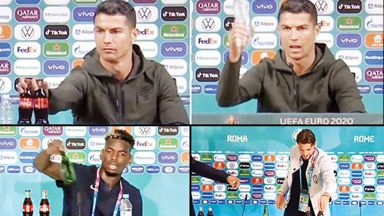 Ronaldo'nun başlattığı akımın yankıları sürüyor... Sağlık mı, para mı?