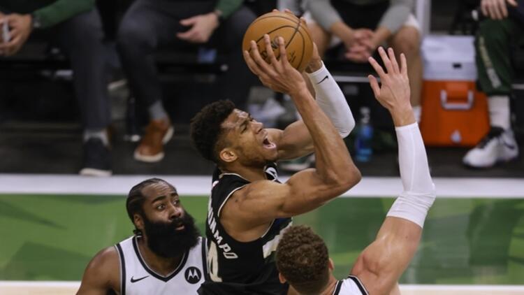 NBA'de Gecenin Sonuçları: Bucks, Nets'e karşı seriyi 7. maça taşıdı