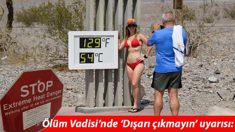 ABD tam anlamıyla kavruluyor... 108 yılın ardından termometreler 54 dereceyi gösterdi!