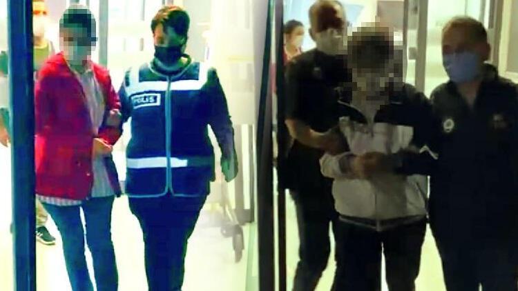 Konya'da eski emniyet müdürü ve komiser eşi yakalandı!