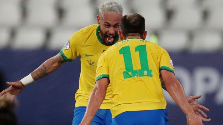 Brezilya 4-0 Peru (Copa America'da sonuçlar)